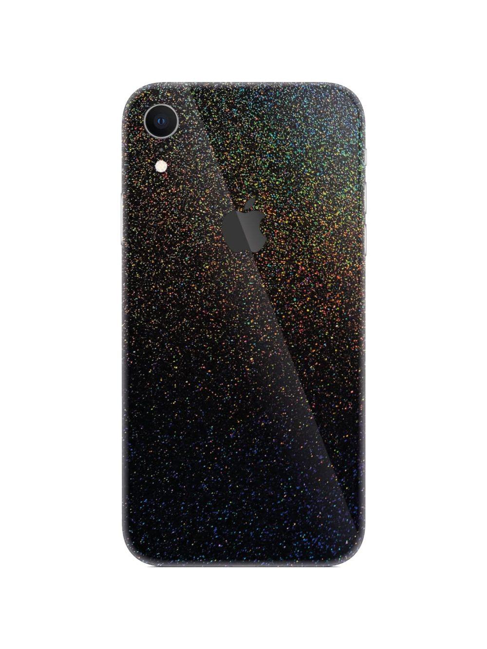 Apple iPhone XR Cosmic Morpheus Black Vinyl Skin Wrap