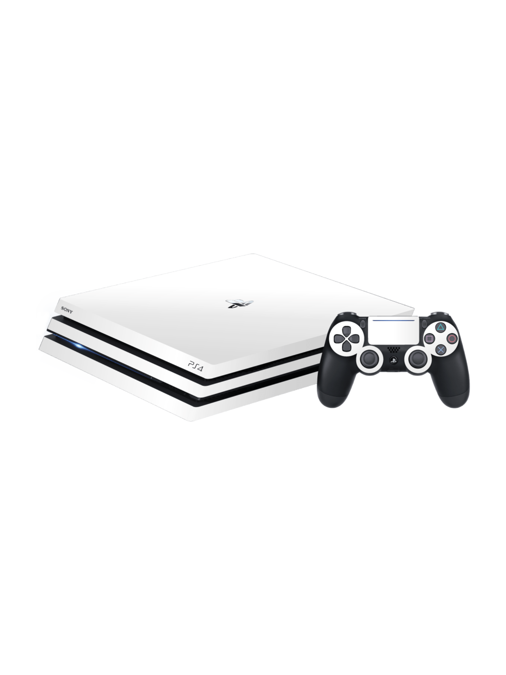 Sony PS4 Pro MATTE Vinyl Skin Wrap White