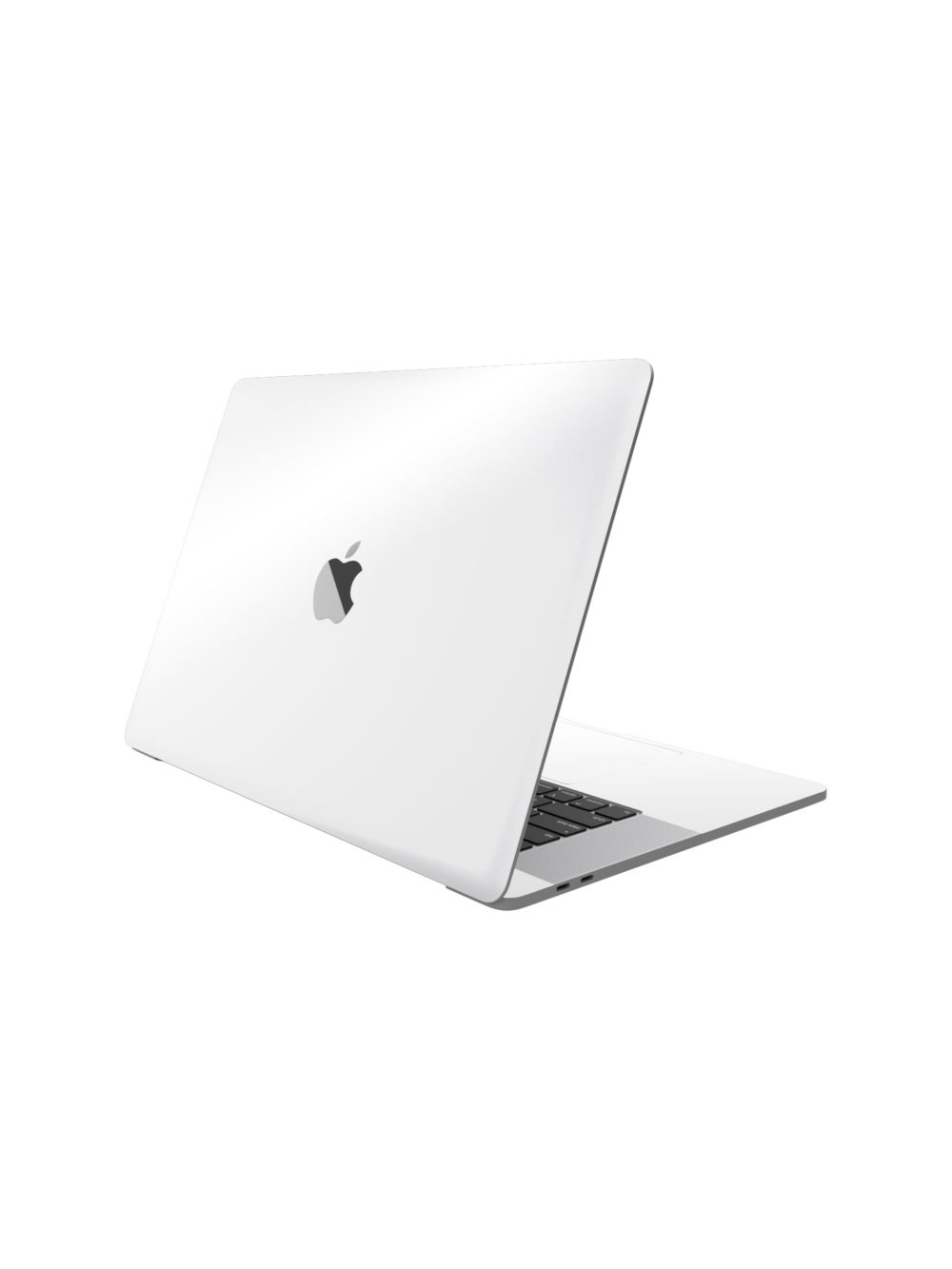 Gloss white Skin Macbook Pro M1 Skin Wrap Cover