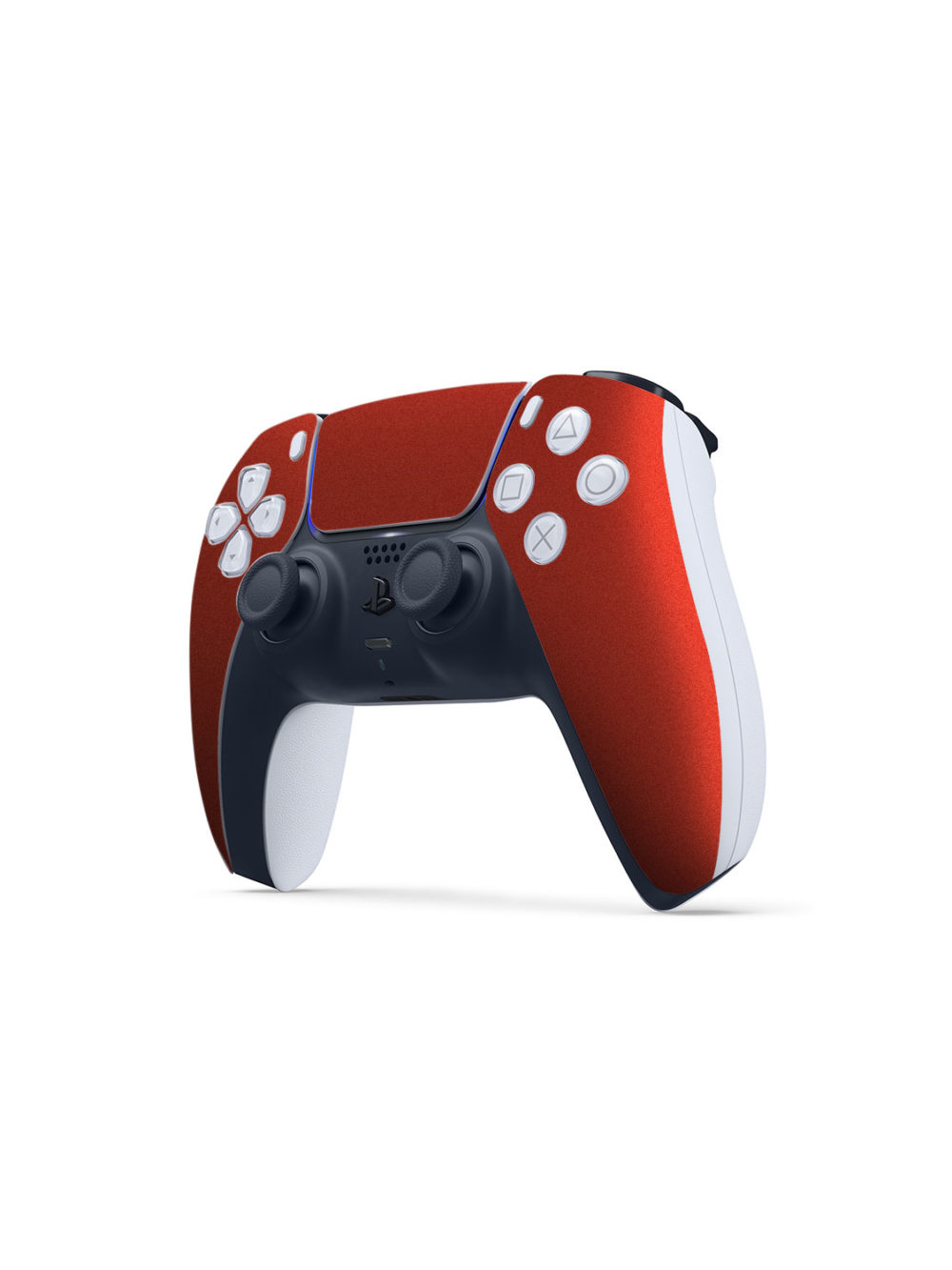 Gloss Vengeance Red Skin Wrap Sony PS5 DualSense Controller