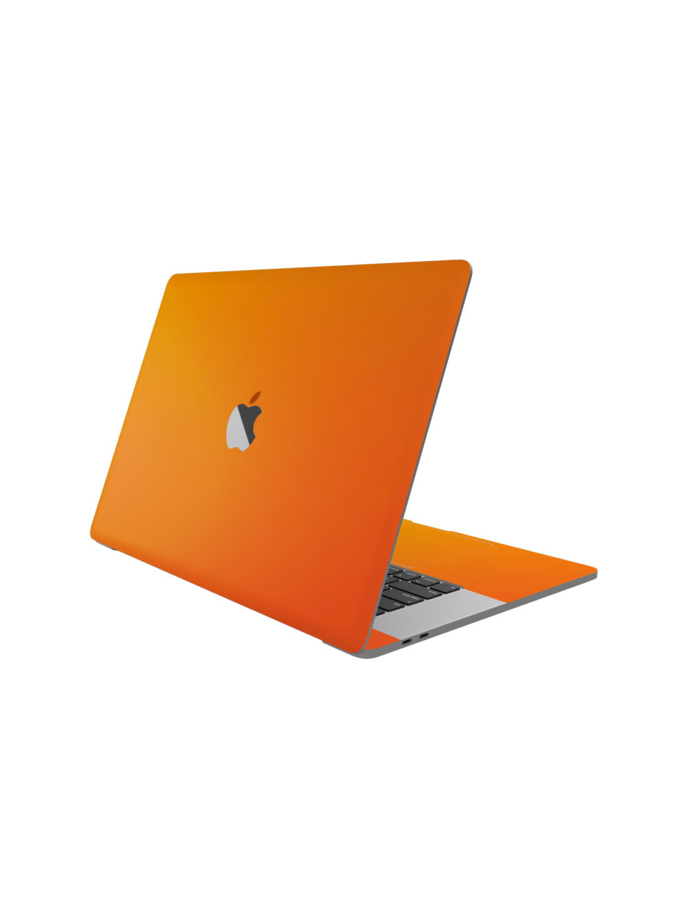 Matt Orange Skin for Macbook Pro M1
