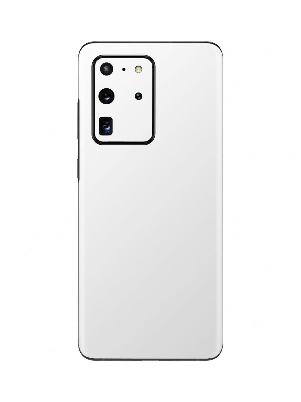 Matt White Skin for Samsung Galaxy S20 Ultra