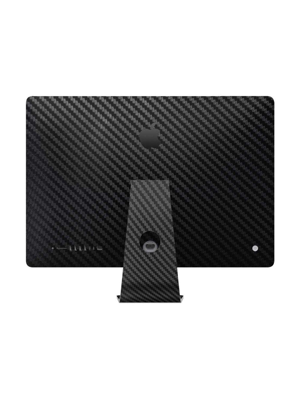 3D Textured Black Carbon Fibre Skin for Apple iMac 27-inch