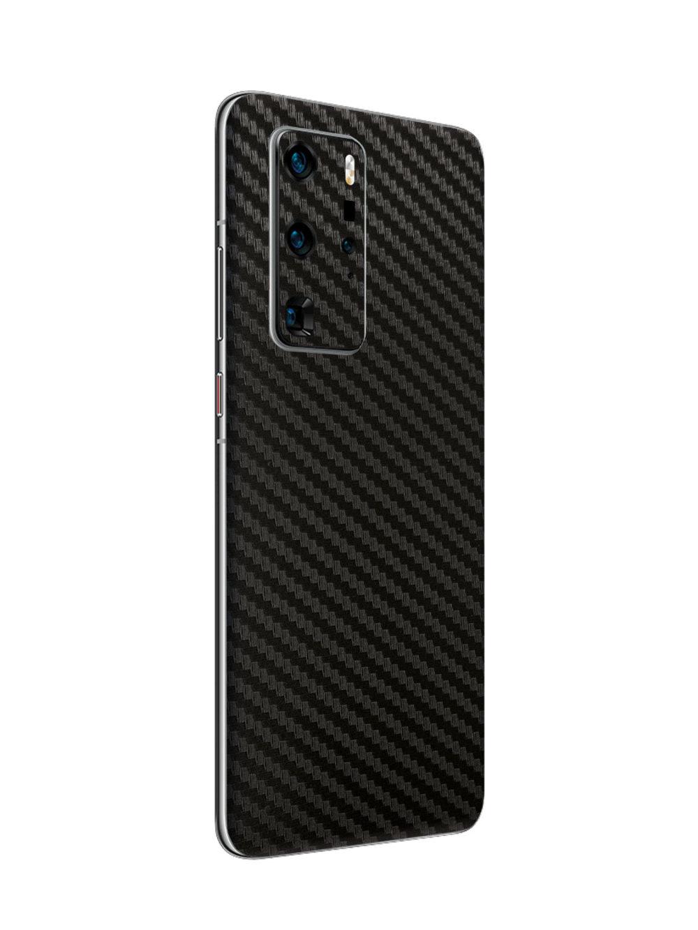 3D Carbon Fibre Vinyl Skin for Huawei P40 Pro