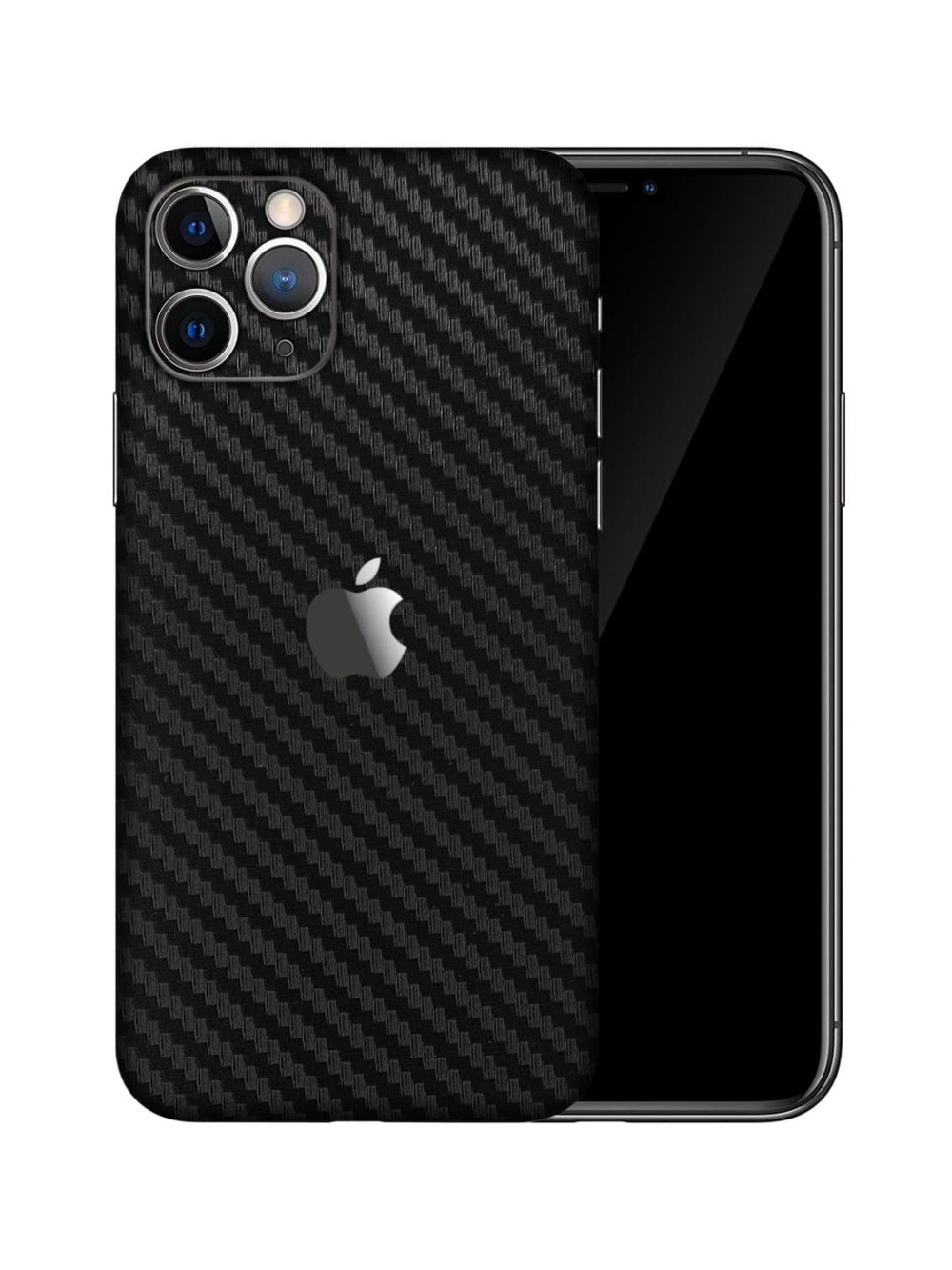 Apple iPhone 11 Pro Max CARBON FIBRE Vinyl Skin Wrap