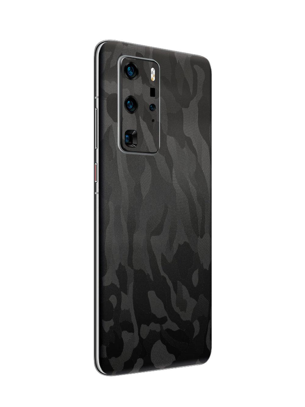 Black Camo Vinyl Skin for Huawei P40 Pro