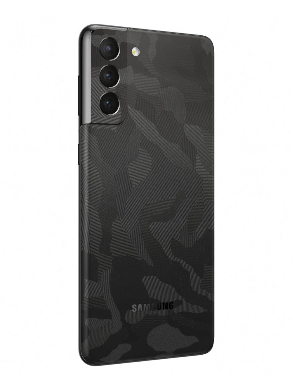 3M Black Camo Vinyl Skin Wrap for Samsung Galaxy S21 Plus