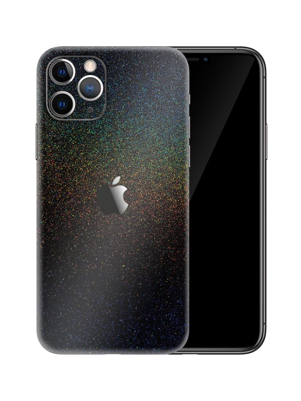 Apple iPhone 11 Pro Max Gloss Cosmic Morpheus Black Skin Wrap