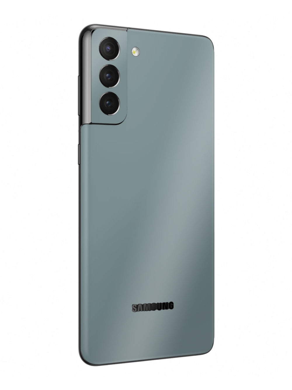 Gloss Nardo Grey Vinyl Skin Wrap for Samsung Galaxy S21 Plus