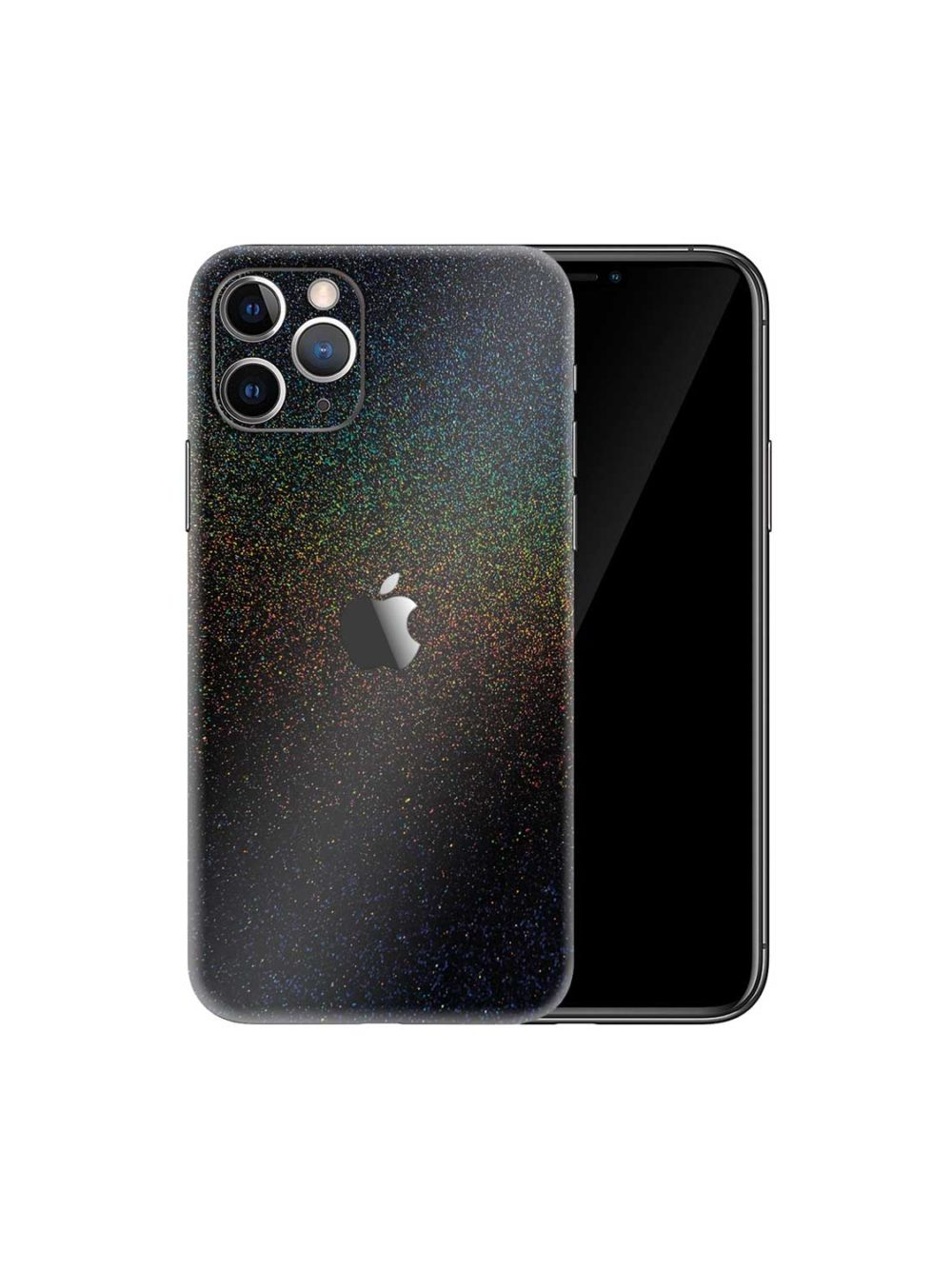 Apple iPhone 11 Pro Gloss Cosmic Morpheus Black Skin Wrap