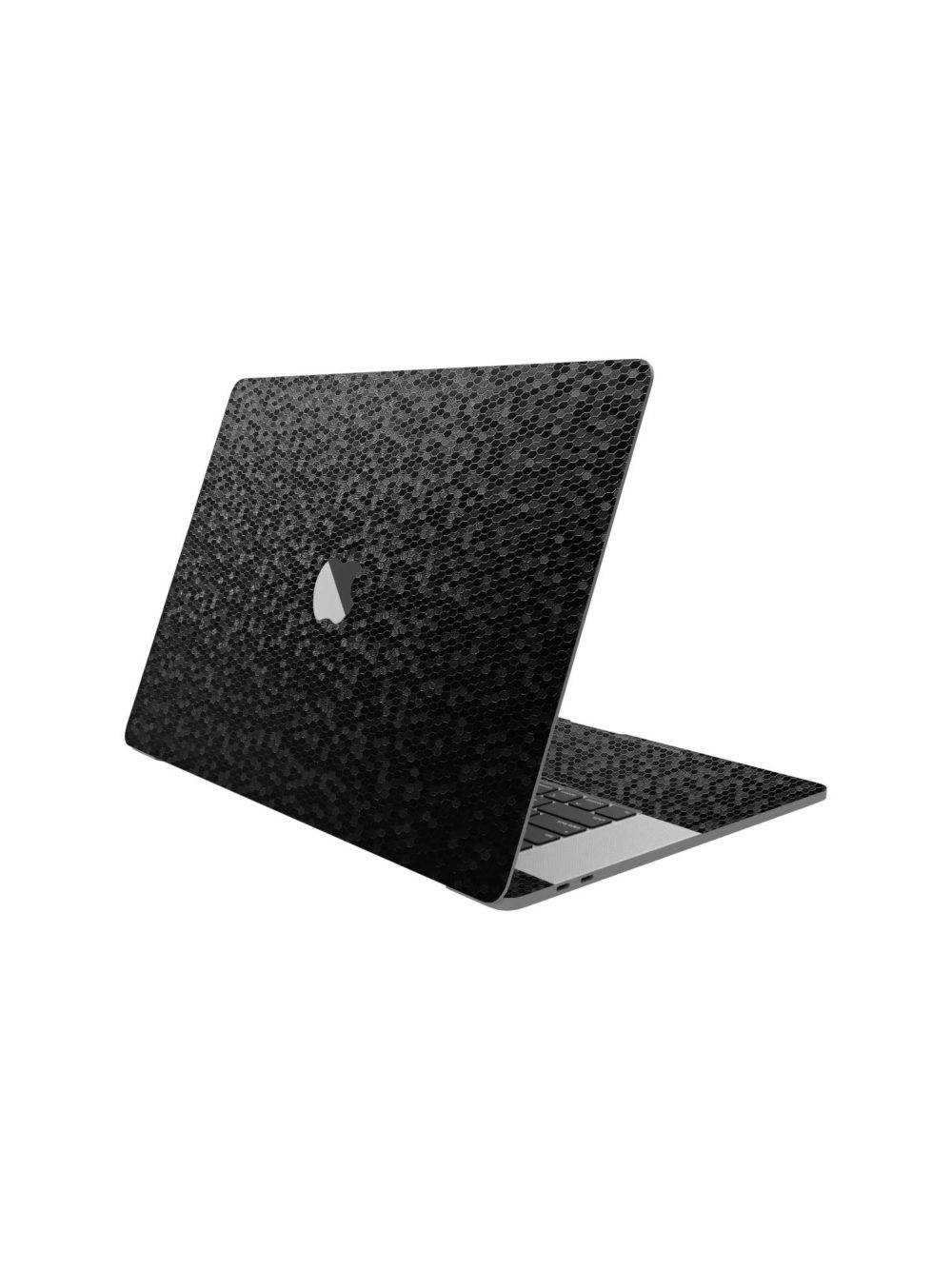 Black 3D Honeycomb Skin for Apple Macbook Pro M1 2020