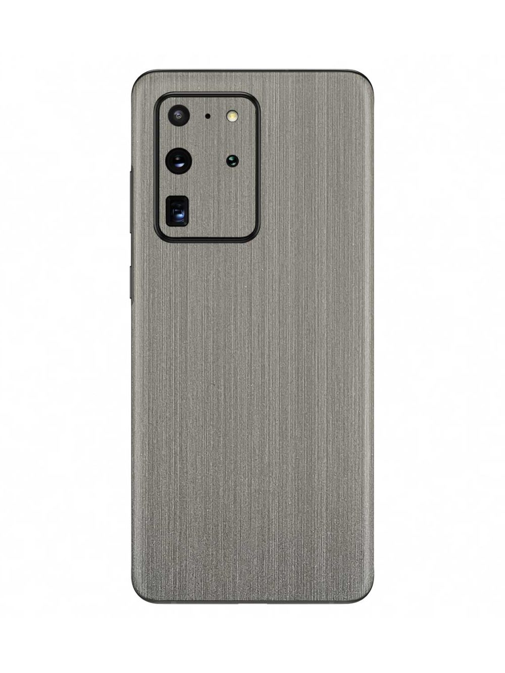 Brushed Silver Metallic skin for Samsung Galaxy S20 Ultra